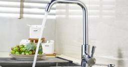 Kitchen faucet leaking water and its solution